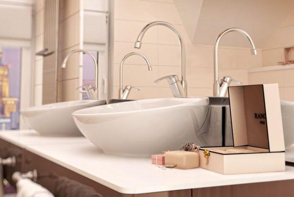 wizualizacja 3d armatury łazienkowej