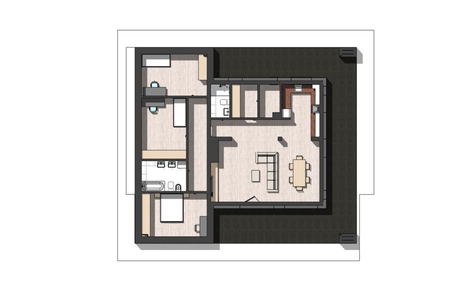 rzuty pomieszczeń 2d dla domów i mieszkań