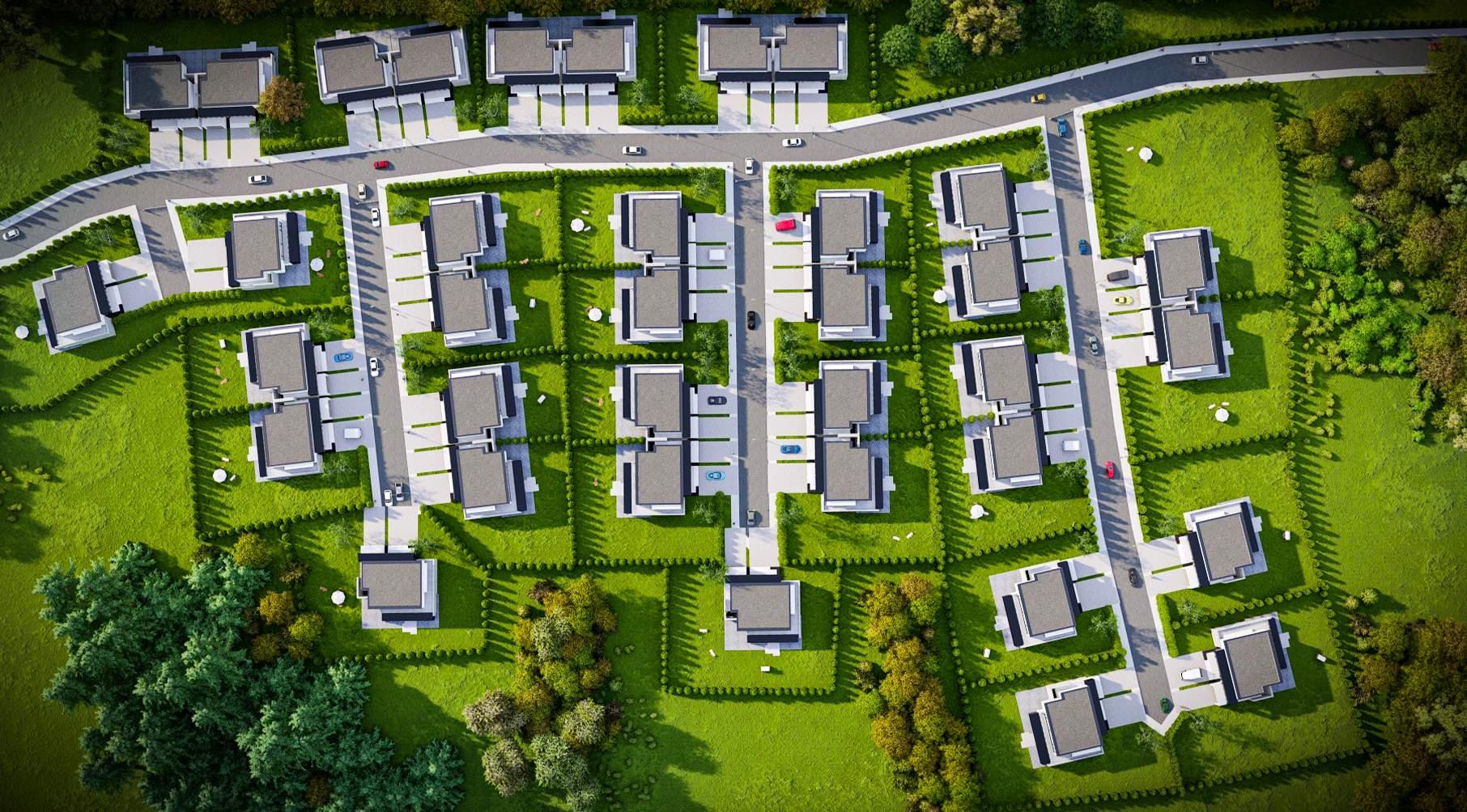interaktywna mapa osiedla domów jednorodzinnych do strony internetowej www