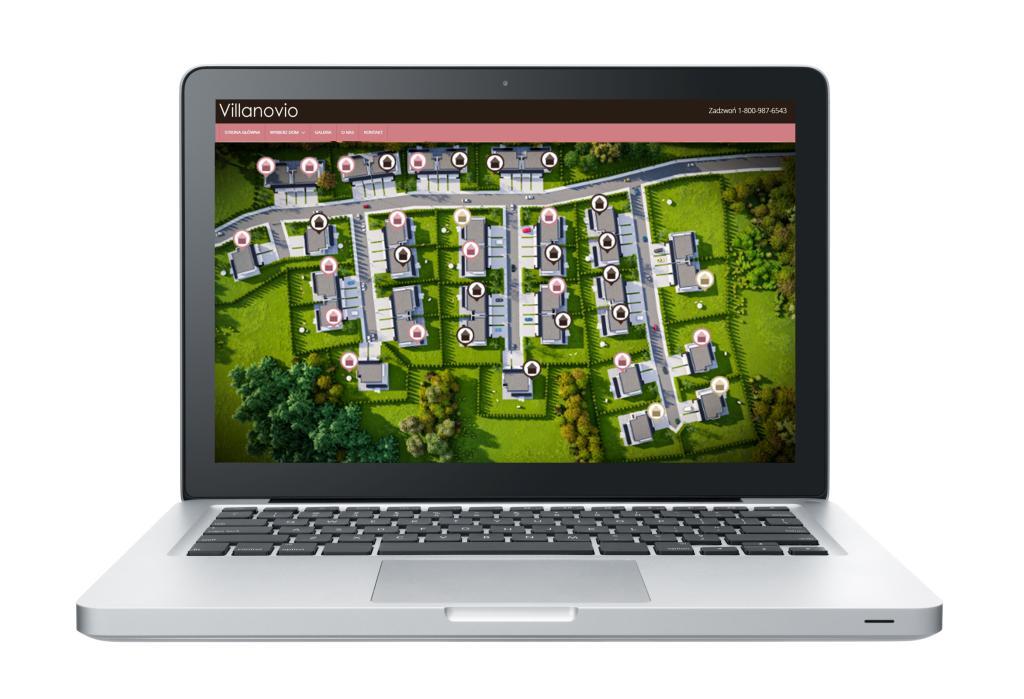 strona www dla deweloperów wyszukiwarka domów