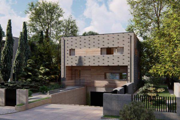 wizualizacje domu nowoczesnego kostka mazowiecka