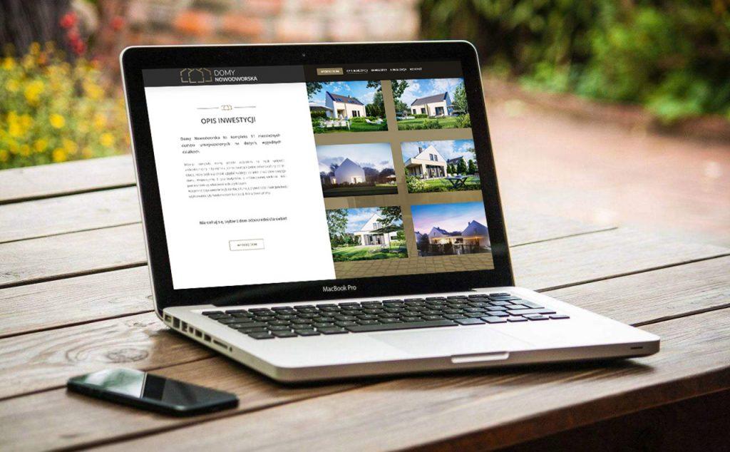 osiedle domow jednorodzinnych strona internetowa projekt